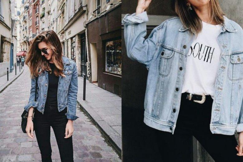 Kurtki jeansowe pokochały też minimalistki