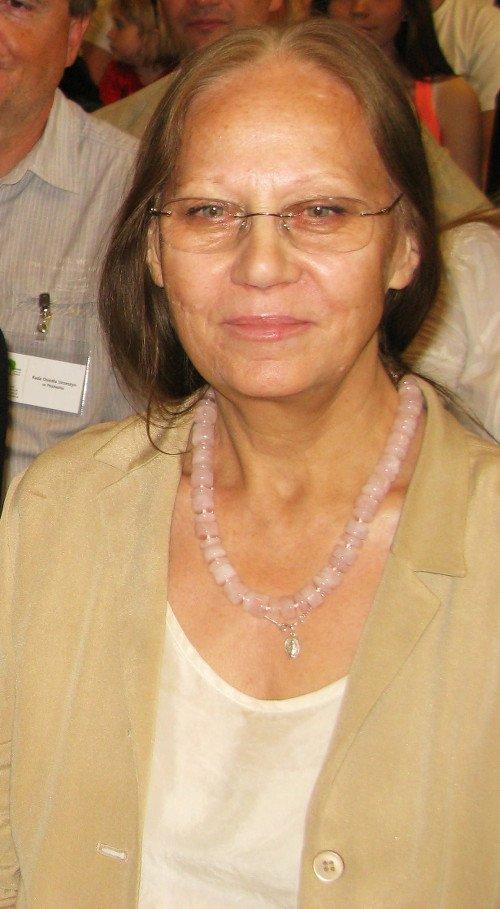 Mirosława Marcheluk, była dyrektor Teatru Nowego w Łodzi.