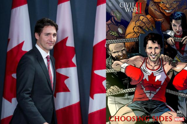 Premier Kanady Justin Trudeau wystąpi w komiksie Marvela, który ukaże się na rynku w sierpniu tego roku