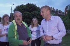 Pan Andrzej na 24 godziny stał się bohaterem zwolenników PiS. Potem zmieszali go z błotem.
