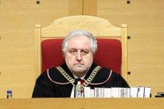 Były prezes Trybunału Konstytucyjnego Andrzej Rzepliński