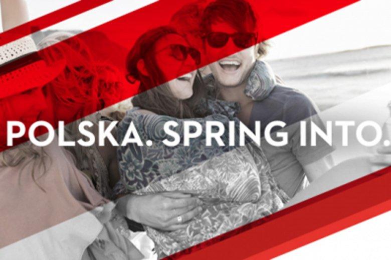 """""""Polska. Spring into"""". Tego hasła nie rozumieją nie tylko Polacy, ale i... rodowici Brytyjczycy."""
