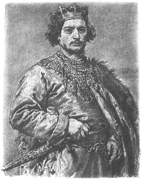 Bolesław II Szczodry. Poczet Jana Matejki.