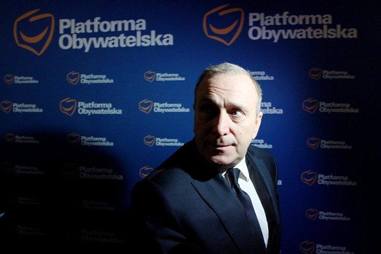 To przewodniczący PO Grzegorz Schetyna będzie kandydatem na nowego premiera we wniosku o konstruktywne wotum nieufności wobec rządu Beaty Szydło.