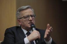 Bronisław Komorowski radził Jarosławowi Kaczyńskiemu, by ten nie wtrącał się w kwestię budowania rodziny.