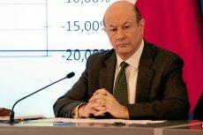 Jacek Rostowski zdaniem użytkowników portalu money.pl jest najgorszym ministrem w historii III RP.