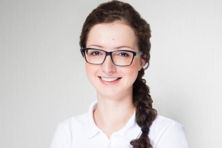 Paulina Ziarnowska, terapeuta koncepcji Bobath oraz koncepcji PNF z kliniki Columna Medica w Łasku.