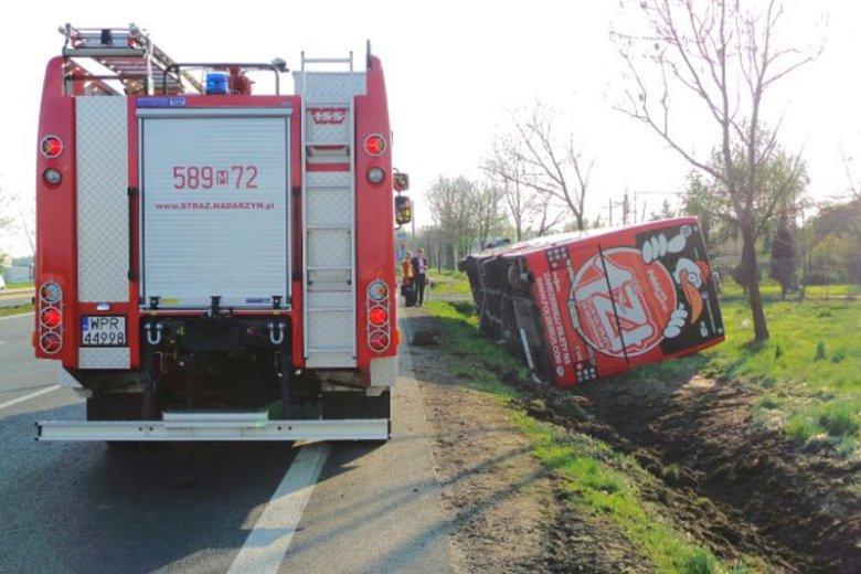 Wypadki autokarów Polskiego Busa sąregularnie odnotowywane w ogólnopolskich mediach