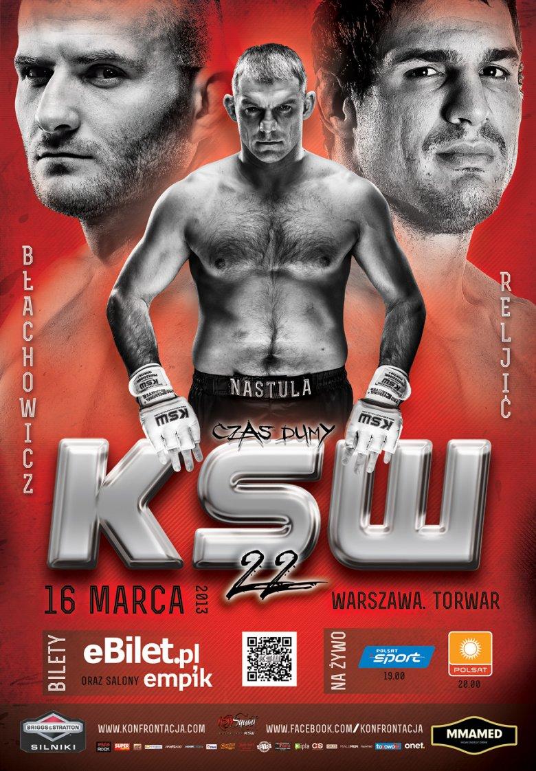 Plakat KSW 22