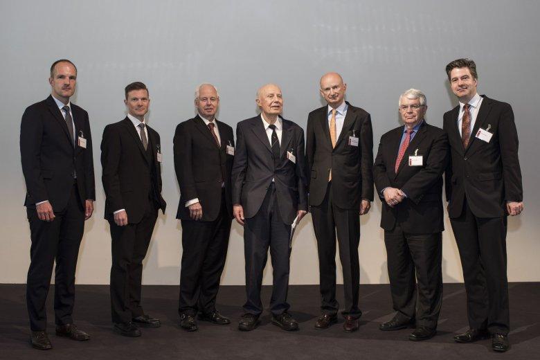 Michael von Prollius, Johan Norberg, Prince Philipp von und zu Liechtenstein (Board Member ECAEF), Peter Bernholz, Prince Michael von und zu Liechtenstein (Chairman ECAEF), John Taylor, Peter Fischer