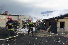 Strażacy pojawili sięna miejscu wybuchu błyskawicznie.