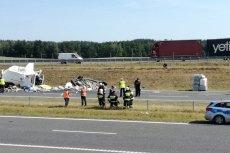 Na trasie S7 doszło do karambolu, jedna osoba zginęła na miejscu.