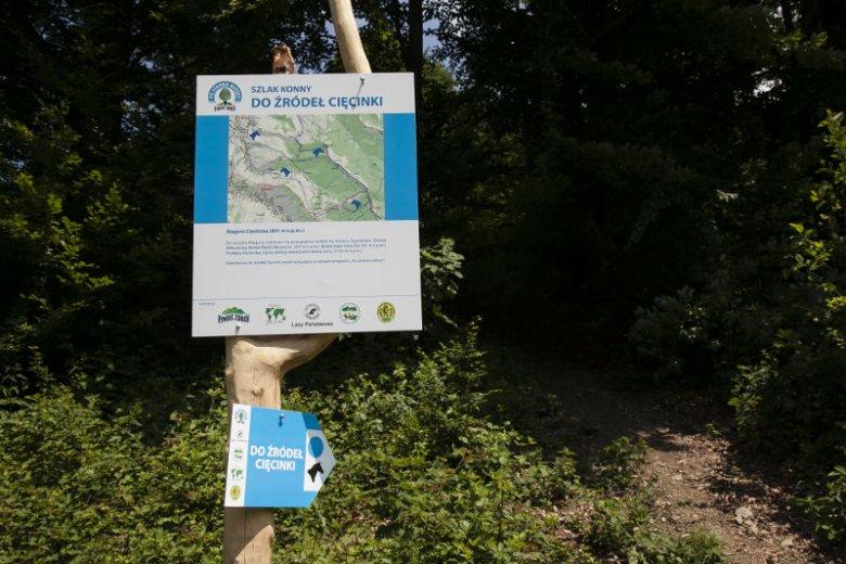 Firma Żywiec Zdrój chce być dobrym sąsiadem także dla przyrody. Na zdjęciu jeden ze szlaków górskich odnowionych w ramach programu ''Po stronie natury''