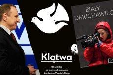 """Jacek Kurski chce zdjąć z ramówki TVP przedstawienie """"Biały Dmuchawiec"""", bo gra w nim aktorka występująca w """"Klątwie""""."""