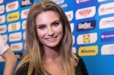 Aleksandra Rajewska z TVP Sport przeprowadzała wywiady z siatkarzami w TVP Sport. Musiała pomóc sobie w nietypowy sposób.