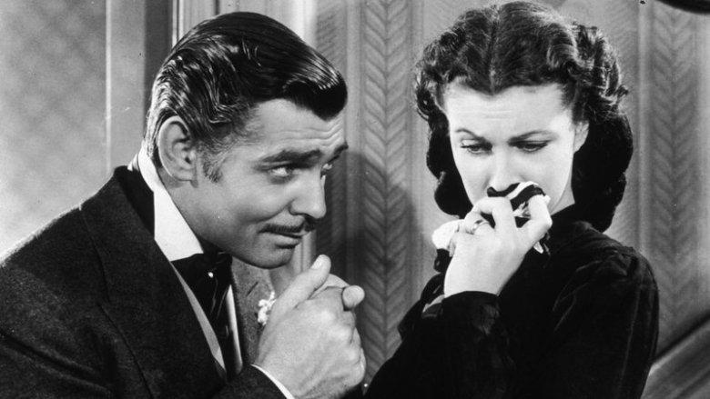Vivien Leigh i Clark Gable