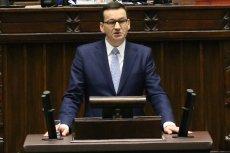 Sejm przyznał rządowi Mateuszowi Morawieckiemu wotum zaufania.