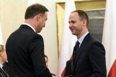 Szef KNF Marek Chrzanowski - na zdjęciu z 2015 r. podczas uroczystości powołania członków Narodowej Rady Rozwoju.