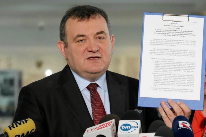 Stanisław Gawłowski może wyjść z aresztu po wpłaceniu kaucji.