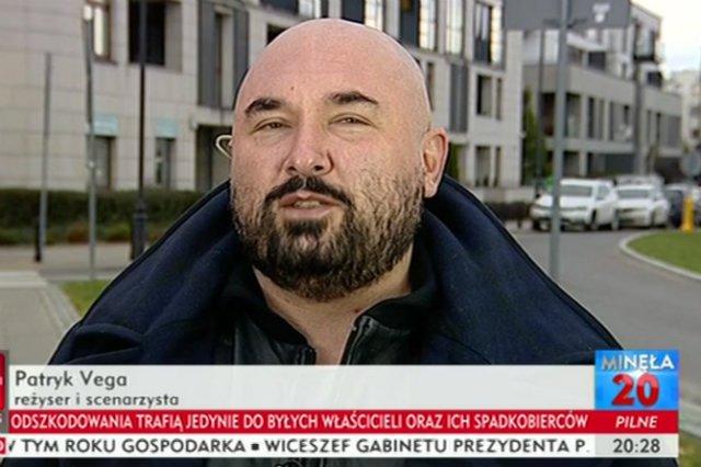 """Patryk Vega bronił w TVP Info """"Botoksu"""" i opowiedział o tym, co myśli o aborcji."""