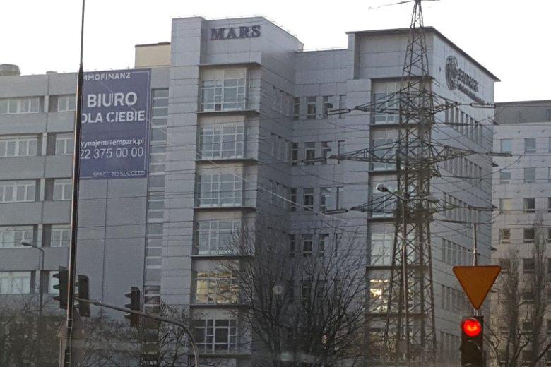 Centrum Mordoru i jeden z  najbardziej znanych budynków biurowych, Mars.