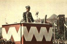 Marszałek Edward Śmigły-Rydz podczas przemówienia na zjeździe legionistów, Kraków, 6 sierpnia 1939 r.