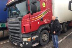 Andriej, białoruski kierowca polskiej firmy transportowej. Jadę do Berlina. Wszyscy solidaryzujemy się zamordowanym Polakiem.