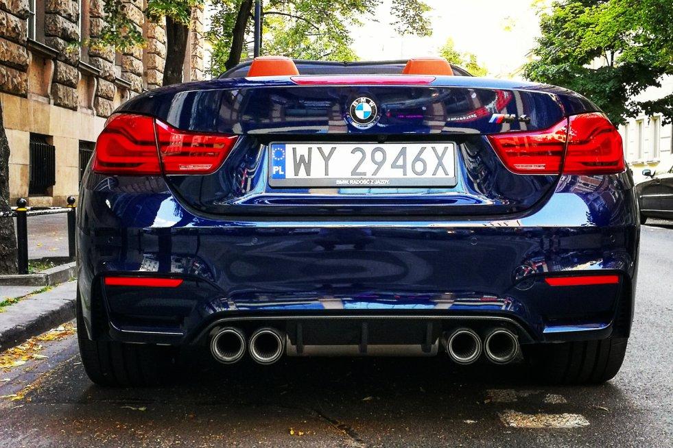 Wystarczy rzut oka, by wiedzieć, że coś tutaj jest na rzeczy. Oto wydech BMW M4 Competition.