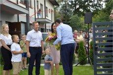 Mateusz Morawiecki podczas kampanii wyborczej jeździ po Polsce.