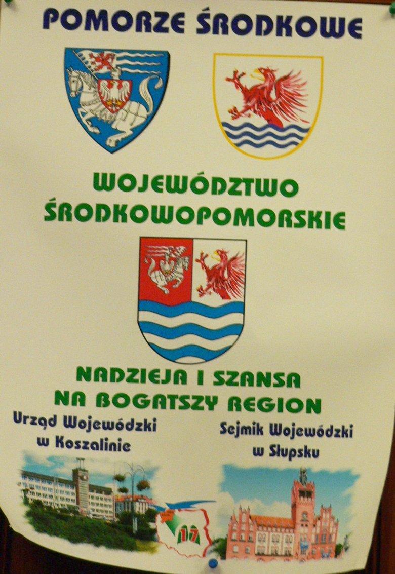 W Koszalinie byłaby siedziba Urzędu Wojewódzkiego woj. środkowopomorskiego, z kolei w Słupsku byłby sejmik wojewódzki.