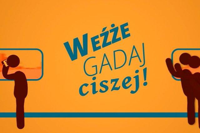 Krakowski  Zarząd Infrastruktury Komunalnej i Transportu apeluje do podróżnych, by nie rozmawiali głośno przez telefon