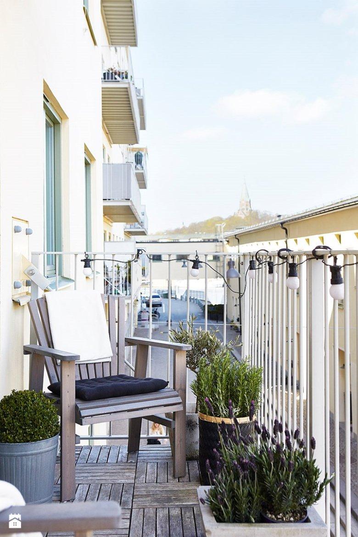 Jeśli urządzisz się na balkonie po prowansalsku, nie zapomnij o lawendzie.