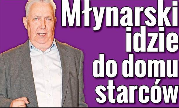 """Jeden z licznych artykułów na temat rodziny Młynarskich. Tytuł z """"Super Expressu"""" mówi sam za siebie."""