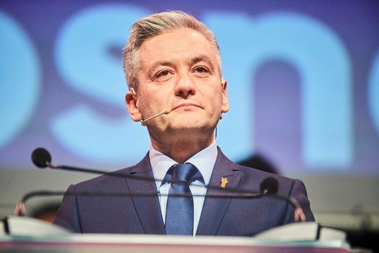 Robert Biedroń chce debaty z Jarosławem Kaczyńskim i Grzegorzem Schetyną.