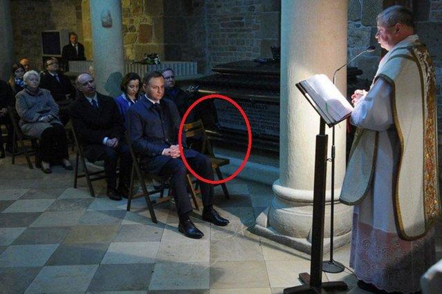 Gdzie jest Agata Duda? - zastanawiało się wielu. W czasie uroczystości obok prezydenta stało puste krzesło