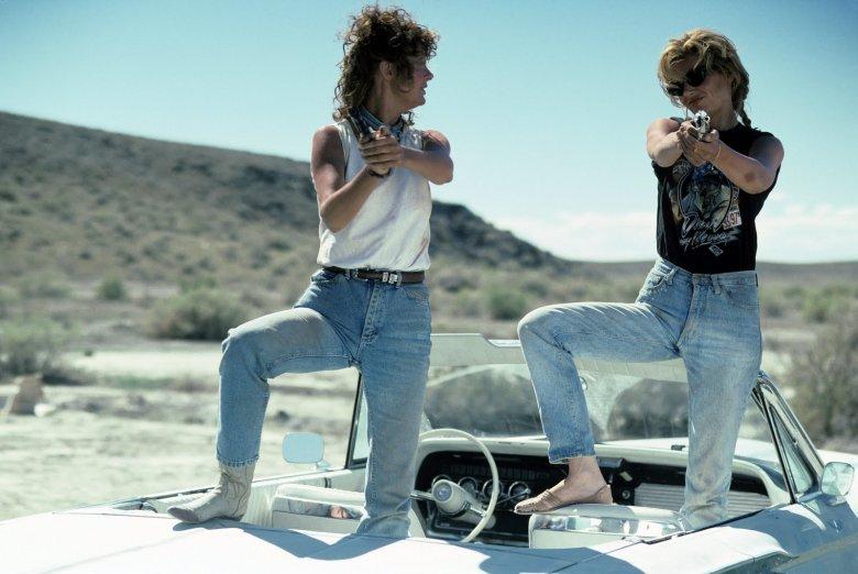 "Susan Sarandon i Geena Davies w filmie ""Thelma i Louise"" (1991)"