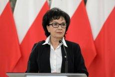 Elżbieta Witek zapowiedziała ujawnienie list poparcia do KRS.