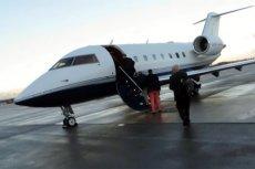 9 osób, które znajdowały się na pokładzie prywatnego Challengera 604, ledwo uszło z życiem.