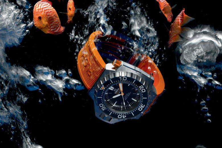 Seamaster Ploprof 1200m, czyli współczesna wersja zegarka, z którym niegdyś nurkował sam Jacques-Yves Cousteau