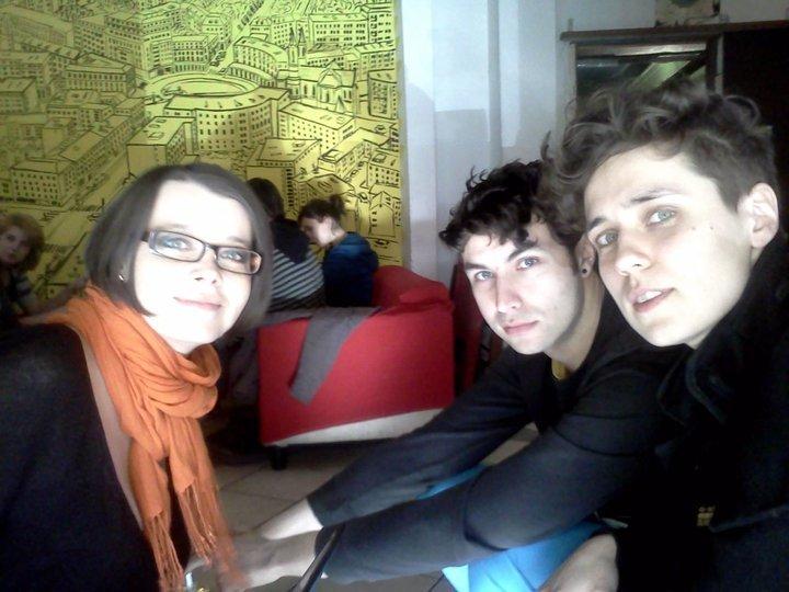 Agnieszka Weseli, Karol Radziszewski i Katarzyna Szustow