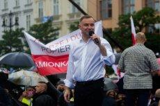 Sztabowcy Andrzeja Dudy wykorzystali utwór Zbigniewa Preisnera podczas wiecu w Krakowie.