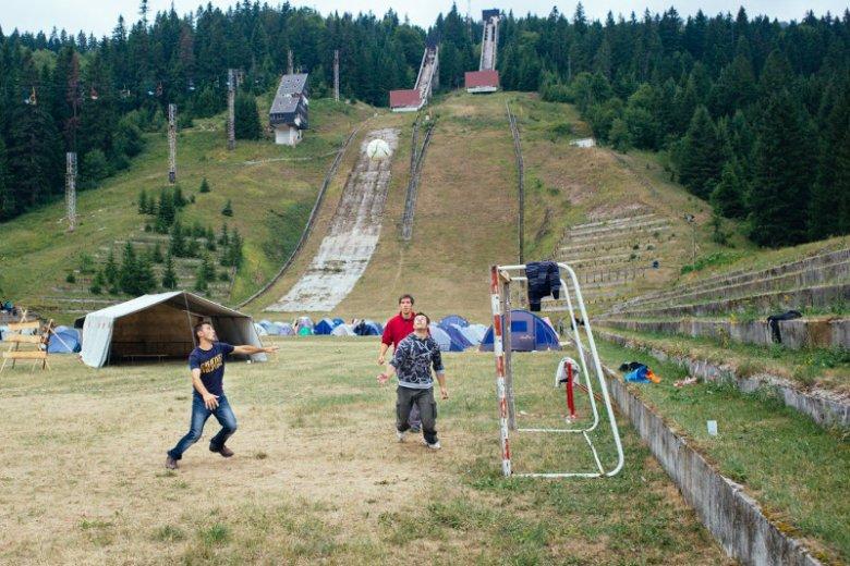 Sportowcy łączą się w wiosce olimpijskiej