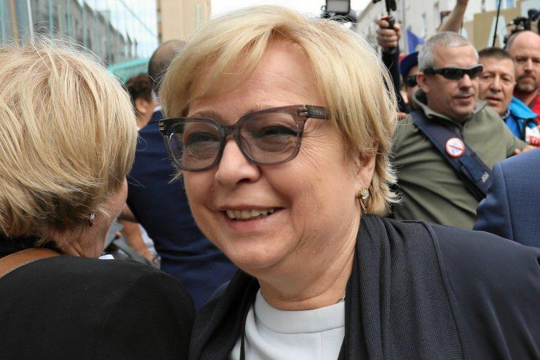 Małgorzata Gersdorf od poniedziałku 9 lipca przebywa na urlopie.