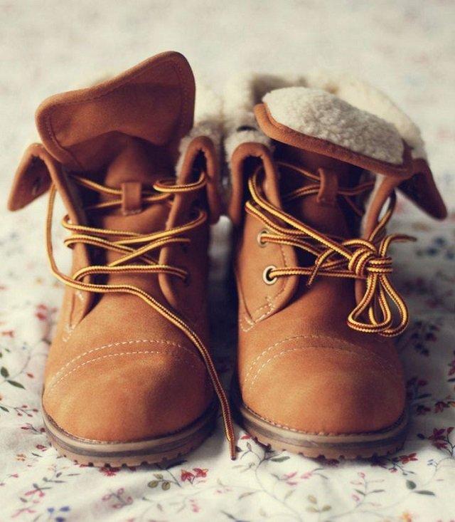 Timberlandy to świetne obuwie na jesień/zimę.