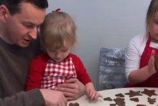 Mateusz Morawiecki pokazał nagranie z rodzinnego pieczenia pierników.