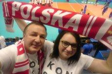 Tak Mirosław i Ewa Pokorscy z Gdyni  kibicowali polskiej reprezentacji na Mistrzostwach Świata w Siatkówce