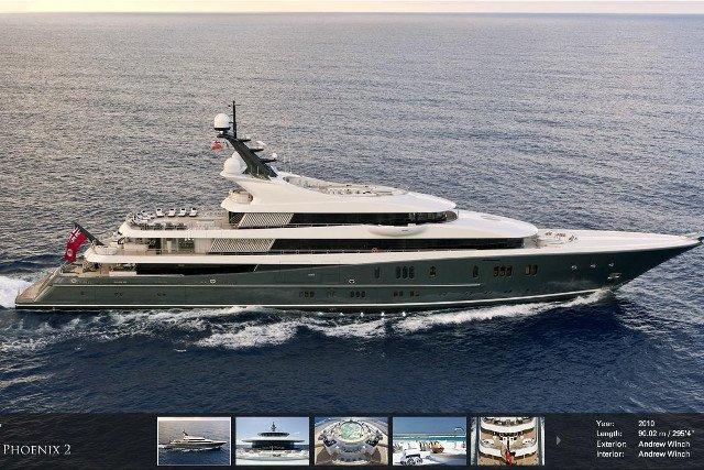 Ten jacht Jan Kulczyk kupił sobie na prezent z okazji 60 urodzin.