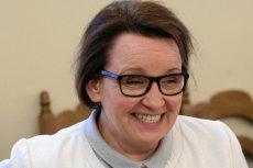 Minister Anna Zalewska zapewnia, że nie ma nic wspólnego z aferą PCK.