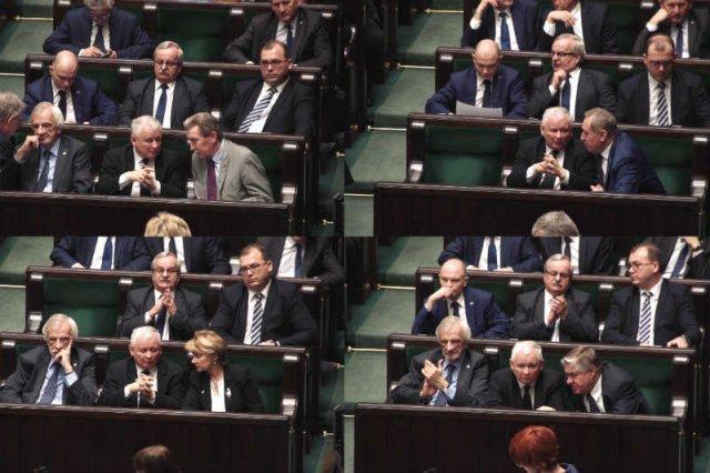 Jarosław Kaczyński jest jak Ojciec Chrzestny - każdy poseł PiS chce mieć dostęp do jego ucha.