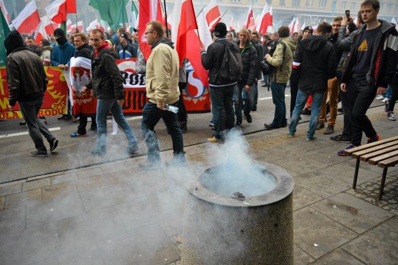 Marsz Niepodległości, zdaniem Sierakowskiego, jest zabawą chłopców.